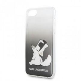 Coque pour Iphone 7/8/SE 2020 Karl Lagerfeld Sunglasses noire