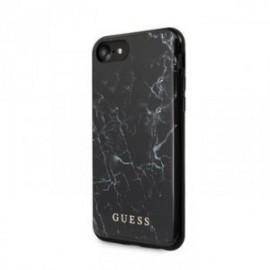 Coque Guess Motif marbre noir pour Iphone 7/8/SE 2020