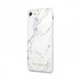 Coque Guess Motif marbre blanc pour Iphone 7/8/SE 2020