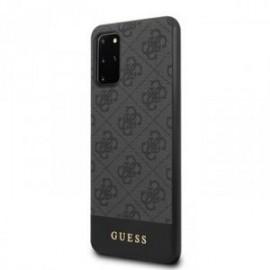 Coque pour Samsung S20 plus G985 Guess gris 4G
