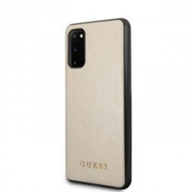 Coque pour Samsung S20 G980 Guess Iridescent or