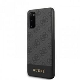 Coque pour Samsung S20 G980 Guess gris 4G