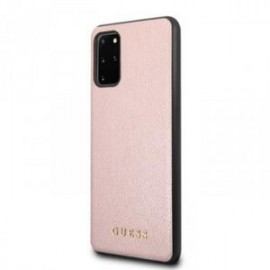 Coque pour Samsung S20 plus G985 Guess iridescent rose
