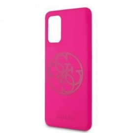Coque pour Samsung S20 Ultra G988 Guess Cercle 4G rose