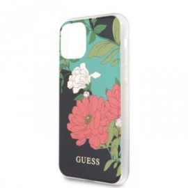 Coque pour Iphone 11 Guess Flower shiny N,1
