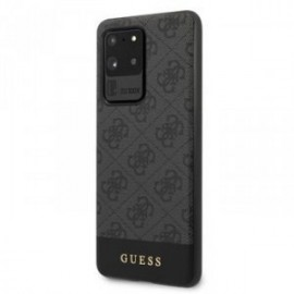 Coque pour Samsung S20 Ultra G988 Guess gris 4G