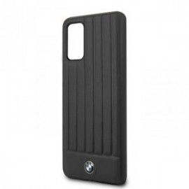 Coque pour Samsung S20 Plus G985 BMW cuir logo noir