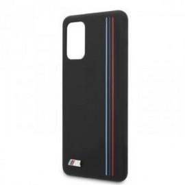 Coque pour Samsung S20 Plus G985 BMW silicone Tricolor noir