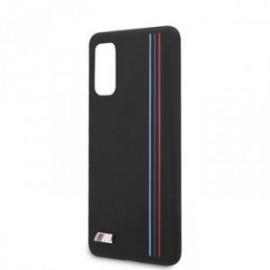Coque pour Samsung S20 G980 BMW silicone Tricolor noir