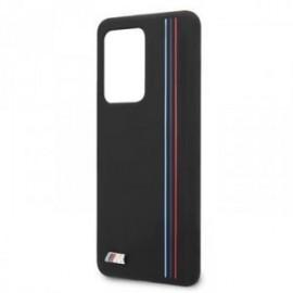 Coque pour Samsung S20 ultra G988 BMW silicone Tricolor noir