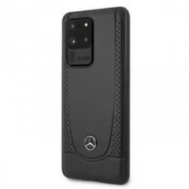 Coque pour Samsung S20 ultra G988 Mercedes Perforation noir