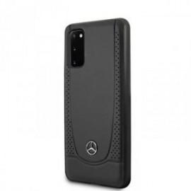 Coque pour Samsung S20 G980 Mercedes Perforation noir
