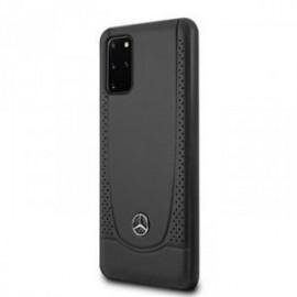 Coque pour Samsung S20 plus G985 Mercedes Perforation noir