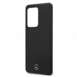 Coque pour Samsung S20 ultra G988 Mercedes silicone noir