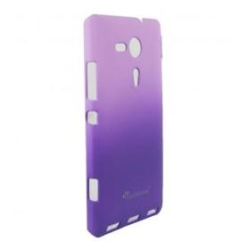 Coque Sony xperia SP Kameleon Rubber violette