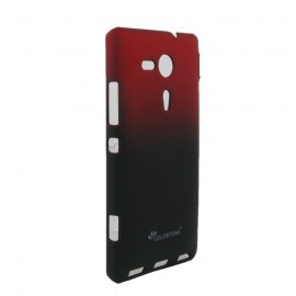 Coque Sony xperia SP Kameleon Rubber rouge