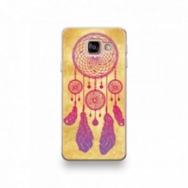 Coque pour iPhone SE 2020 motif Attrape Reve Rose Vintage