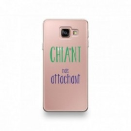 Coque pour iPhone SE 2020 motif Chiant Mais Attachant