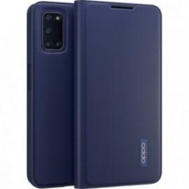 Etui folio bleu pour Oppo A72