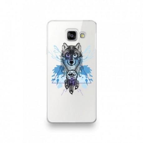Coque en silicone pour Huawei P SMART 2020 motif Loup Attrape Reve