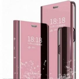 Etui compatible pour Oppo Find x2 lite miroir rose