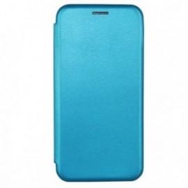 Etui folio stand pour Huawei Y6S bleu