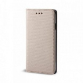 Etui pour Huawei Psmart 2020 Folio stand doré