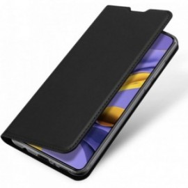Etui housse Coque Folio stand pour Huawei P40 Lite noir