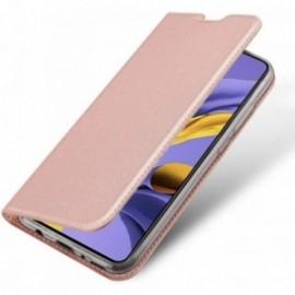 Etui housse Coque Folio stand pour Huawei P40 Lite rose
