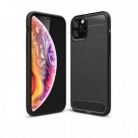 Coque silicone Design noire pour Iphone 11 Pro max