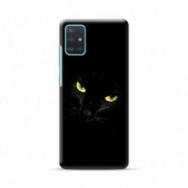 Coque pour Oppo Find X2 Lite personnalisée motif Black cat