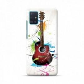 Coque pour Oppo Find X2 Lite personnalisée motif Guitard