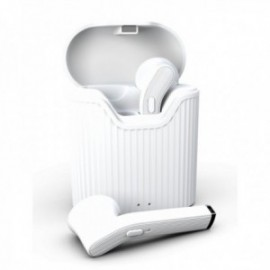 Ecouteurs Bluetooth sans fil pour Oppo Find X2 Neo blanc