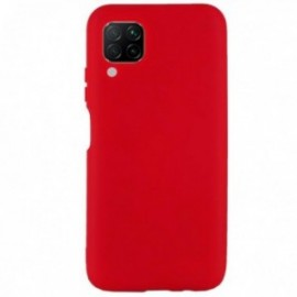 Coque pour Huawei Y6P softy touch rouge