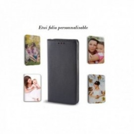 Etui folio stand pour Huawei P40 Pro à personnaliser à votre image