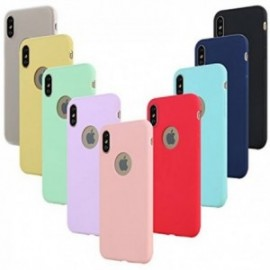 Coques pour iPhone XS/iPhone X Silicone Gel