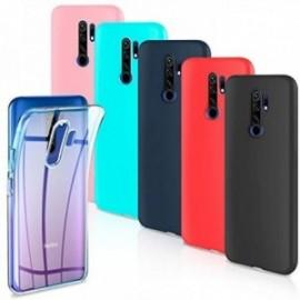 Lot de 6 Coques pour Xiaomi Redmi 9 Housse Silicone Souple  étui Protection Bumper Case Cover Coque