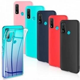 Lot de 6 Coques pour Huawei P Smart 2020 Housse Silicone Souple  étui Protection Bumper