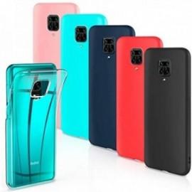 Lot de 6 Coques pour Xiaomi Redmi Note 9S / Redmi Note 9 Pro Housse Silicone Souple  étui Protection Bumper Case Cover