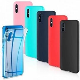 Lot de 6 coques pour  Coque Xiaomi Redmi 9A Housse Silicone Souple  étui Protection Bumper Case Cover