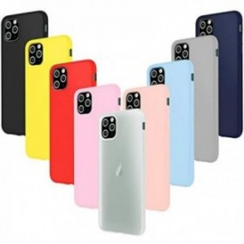 Coques pour iPhone 11 Pro (5.8) Silicone ultra fine Souple  Housse Protection Gel