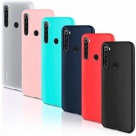 Lot de 6 coques pour  Coque Xiaomi Redmi Note 8T Housse Silicone Souple  étui Protection Bumper