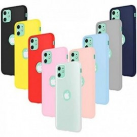 Coques pour iPhone 11 (6.1) Silicone ultra fine Souple  Housse Protection Gel