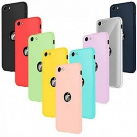 Coques pour iphone Se 2020 Silicone ultra fine Souple  Housse Protection Gel