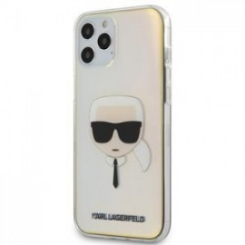 Coque Karl Lagerfeld PC/TPU Head pour iPhone 12 Pro Max Iridescent
