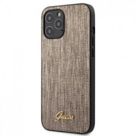 Coque Guess Lizard pour iPhone 12 Pro Max or