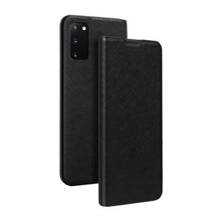 Etui folio noir pour Samsung Galaxy S20 FE G780