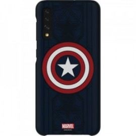 Coque rigide bleue Avengers Captain America Galaxy Friends Samsung pour Galaxy A50 A505
