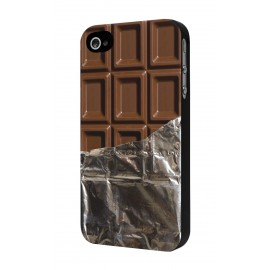 Coque Iphone 4/4s motif tablette de chocolat