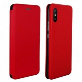 Etui folio stand rouge pour iPhone 12 / 12 Pro 6,1''